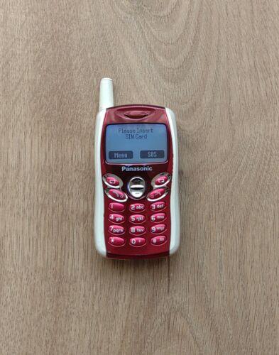 Panasonic GD55 - Red (Unlocked) Cellular Phone