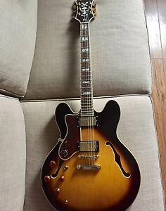 Epiphone Sheraton II Gauchère,  Gaucher Lefty Left-handed Gibson
