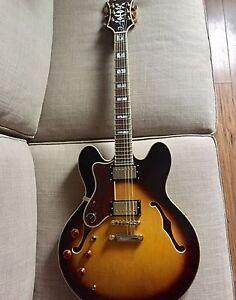 Epiphone Sheraton II Gauchère,  Gaucher Lefty Left-handed Gibson