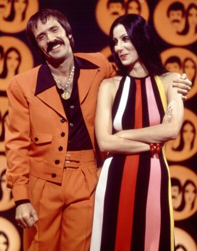 SONNY AND CHER - MUSIC PHOTO #E-51