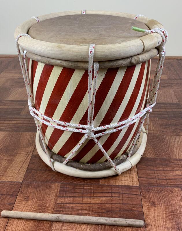 Professional Tambora-Rope Tuned Handcrafted.Tambora De Soga-For Merengue