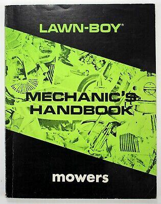 Vintage Lawn-Boy Mowers Mechanic's Handbook
