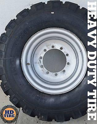 17.5-25 Jlg 12055 Skytrak 10054 Telehandler On 10 Bolt Wheels17.5x25 Tyre X 4