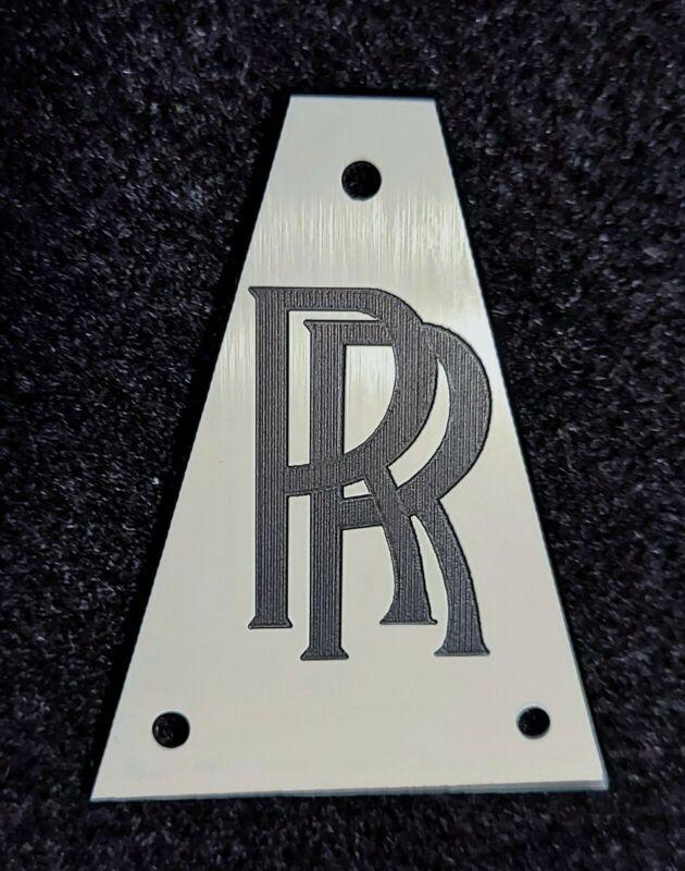 Randy Rhoads Jackson Guitar Truss Rod Cover - RR - White/Black