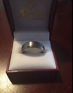 Wedding band- men's tungsten ring