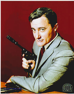 Man From Uncle Robert Vaughn As Napoleon Solo Great Photo