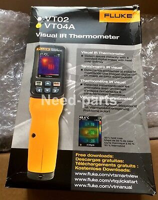 New Fluke Vt04a Visual Ir Thermometer Infrared Thermal Camera