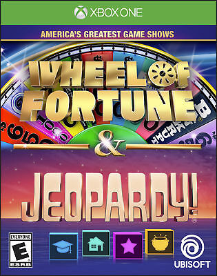 Ubisoft America's Greatest Game Shows: Wheel of Fortune & Jeopardy! Xbox One