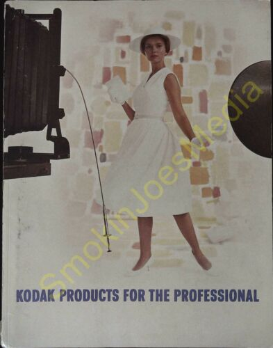 Vintage Kodak Products for the Professional Catalog and Confidential Price List
