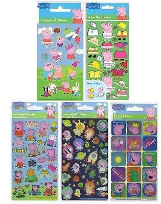 Peppa Pig & George Foil Reward Dress Up Reusable Stickers Kids Party Bag Gift 🐷](George Pig Dress Up)
