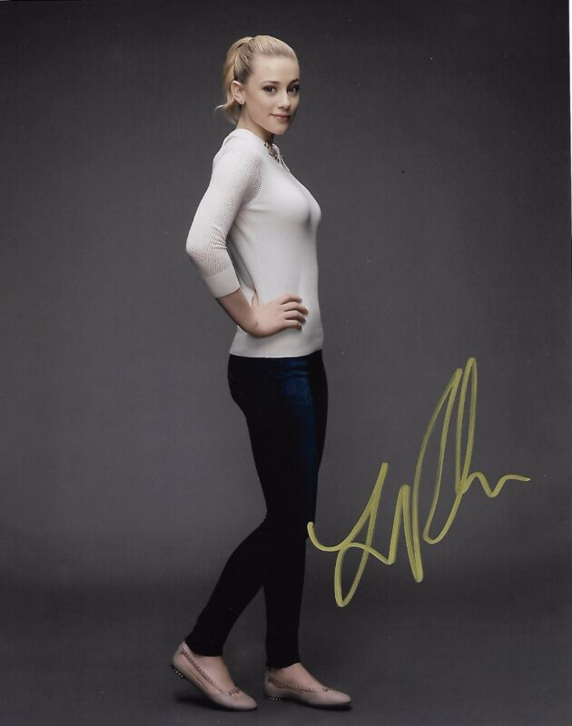 Lili Reinhart Riverdale Autographed Signed 8x10 Photo COA #3