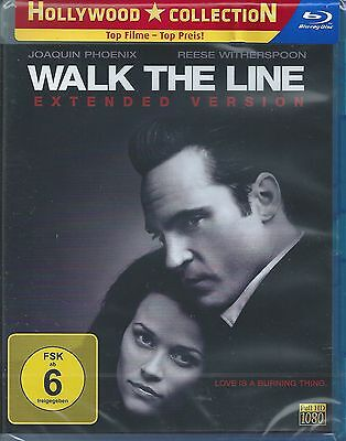 Blu-ray - Walk the Line - Reese Witherspoon - Neu & OVP