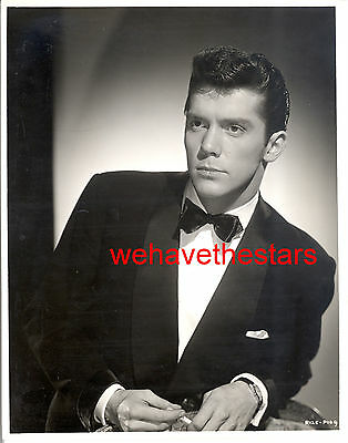 Vintage Lee Patterson QUITE HANDSOME '57 GOOD DIE YOUNG PUB Portrait by TED REED