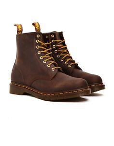 Brown doc martens size 8-8.5