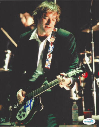 PETER BUCK R.E.M. GUITARIST HAND SIGNED 8X10 PHOTO FILTHY FRIENDS PROOF ACOA