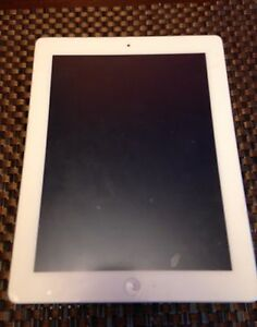 iPad 2nd Gen 16gb White - For parts/repair
