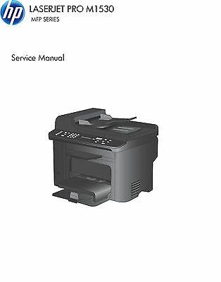 HP LaserJet  Pro M1530 MFP Series - Service  Manual PDF