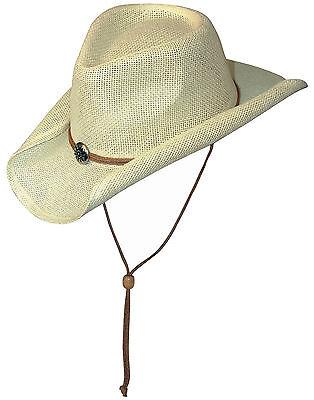 Scippis Westernhut Strohhut Cowboyhut »SUNNY« White Weiß