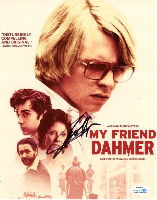 "Ross Lynch ""My Friend Dahmer"" AUTOGRAPH Signed 8x10 Photo ACOA"