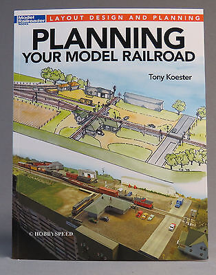 KALMBACH PLANNING YOUR MODEL RAILROAD BOOK train o ho n gauge layout 12494 NEW for sale  Indiana