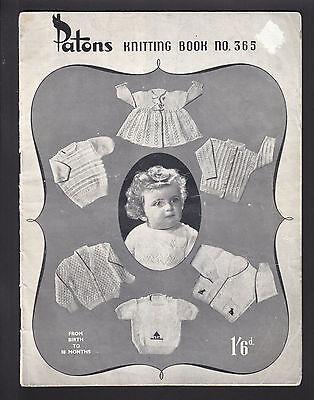 Винтажные Vintage Patons Knitting Book No