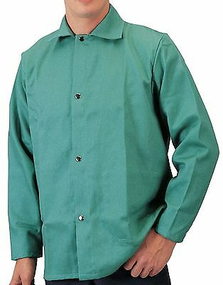 Tillman 6230 X-large Welding Jacket Flame Retardant Lightweight Cotton