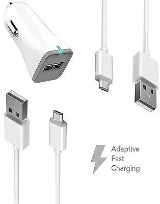 HTC One A9s Charger Fast Micro USB 2.0 Cable Kit by Boxgear