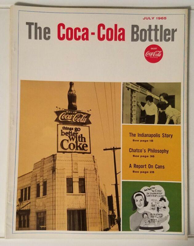 THE COCA-COLA BOTTLER - VINTAGE MAGAZINE - JULY 1965