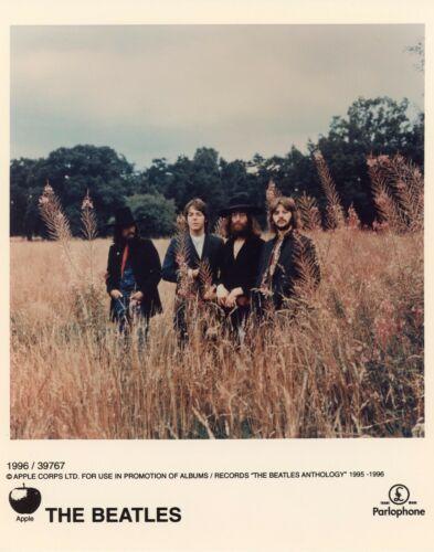 Lot of 7 The Beatles 8x10 Black & White & COLOR 1995 PROMO Photographs MINT