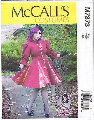 Für Flare Godet Mantel Kleid Ball Yaya Han Kostüm Nähen Muster 6 8 10 12 (Nähen Muster Für Kostüm)