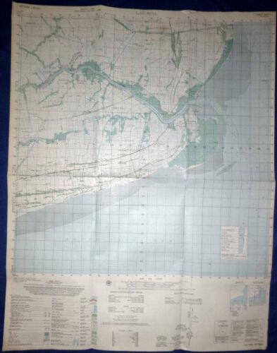 6227 iv - MAP - 1967 RIVER OPS - US NAVY SEALs - BAC LIEU - LAC HOA, VIETNAM WAR