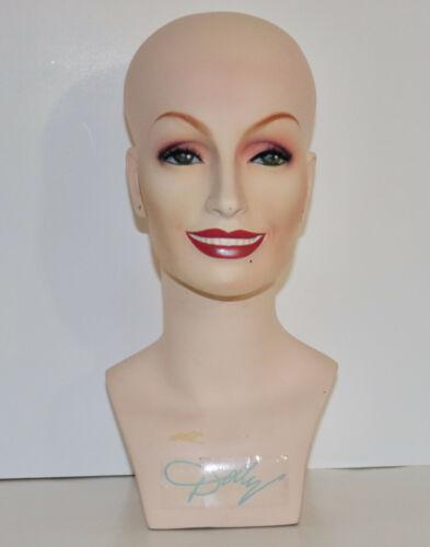 Dolly Parton head mannequin Revlon wigs vintage 1980