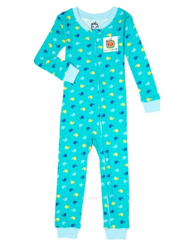 Cocomelon Pajamas Size 24M 2T 3T 4T Boys Girls Toddler Blanket Sleeper One Piece
