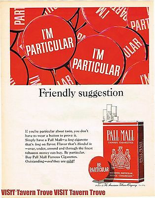 - Pall Mall Mild Cigarettes