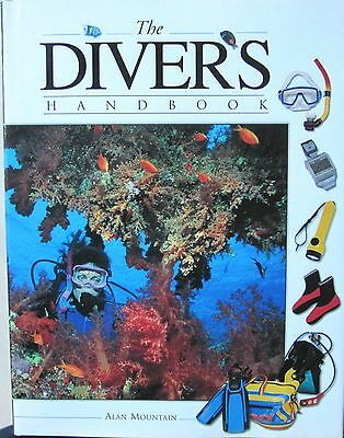 The Diver's Handbook by Alan Mountain (Hardback, 1996), Diving, Scuba, Snorkel