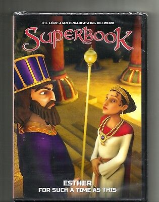 SUPERBOOK Esther For Such A Time As This (2013, DVD) BRAND NEW: Bible: