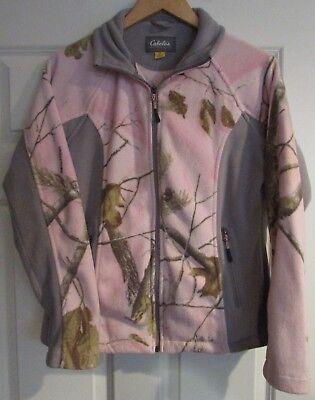 Cabelas Damen Reißverschluss Fleece Jacket Größe S Cabelas Damen Fleece