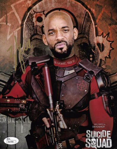 Will Smith Suicide Squad Autographed Signed 8x10 Photo JSA COA #2