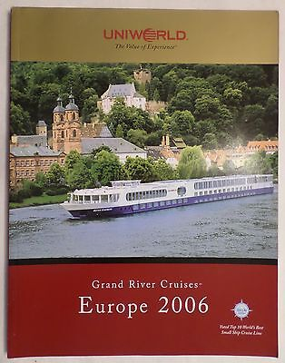 Grand River Cruises Europe 2006 Bro. Deck Plans . Destinations Cruise Boat Ship