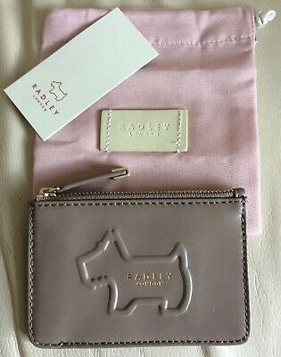 Radley Dog    Brand new coin and credt card purse grey leather BRAND NEW.