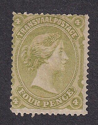 Transvaal  1878 4d green unused no gum