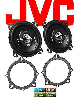 JVC Lautsprecher für BMW 5er Touring E61 2006 - 2010 Türen vorne 210 Watt Koax
