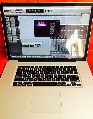 "Apple MacBook Pro 17"" + Quad i7 TURBO 3.3GHz + 16GB Ram+ 2TB SSHD + Fully Loaded"
