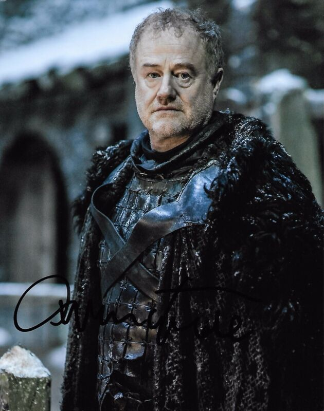 Owen Teale Game of Thrones Autographed Signed 8x10 Photo COA #1