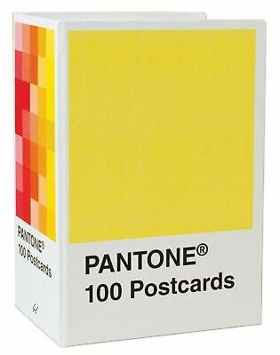 Pantone 100 Postcard Box Color Chip Card Set Art Interior Design Paint Artist