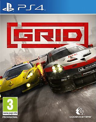 GRID (PS4) Brand New & Sealed UK PAL Free UK P&P