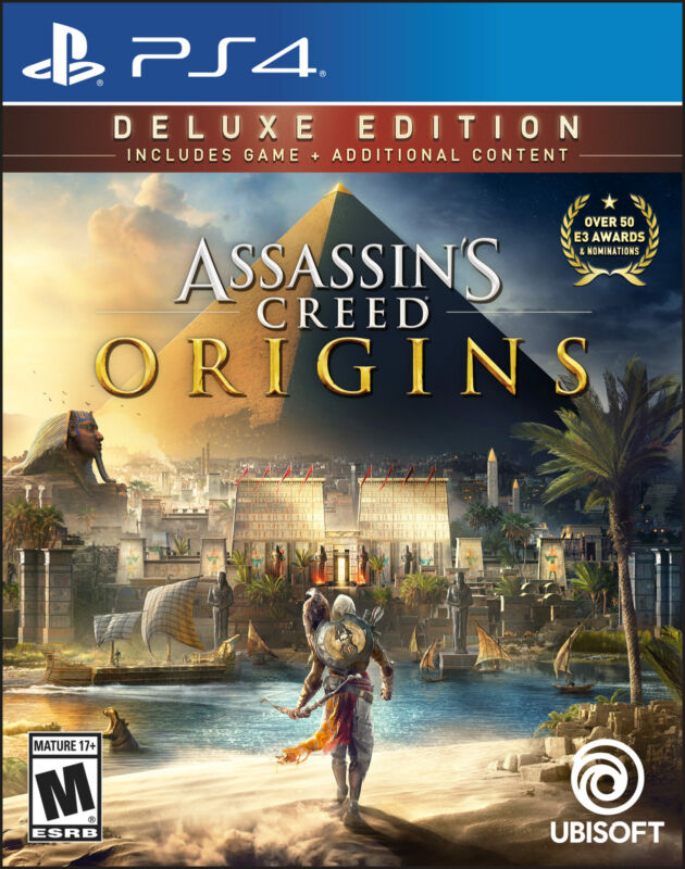 Assassin's Creed Origins Deluxe Edition PlayStation 4 UBP30562100
