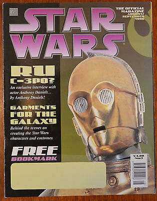 Star Wars The Official Magazine No.3 Aug/Sept 1996