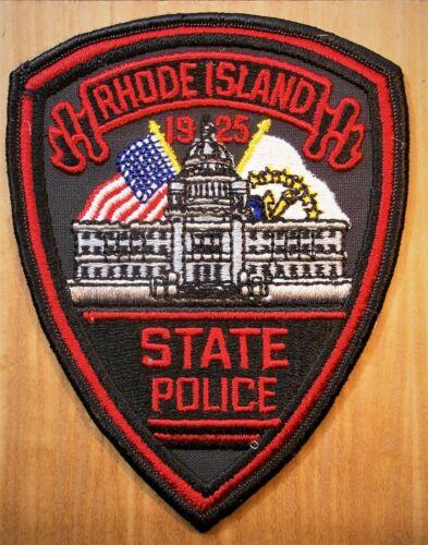 GEMSCO NOS Vintage Patch POLICE STATE OF RHODE ISLAND - RI - Original 35+
