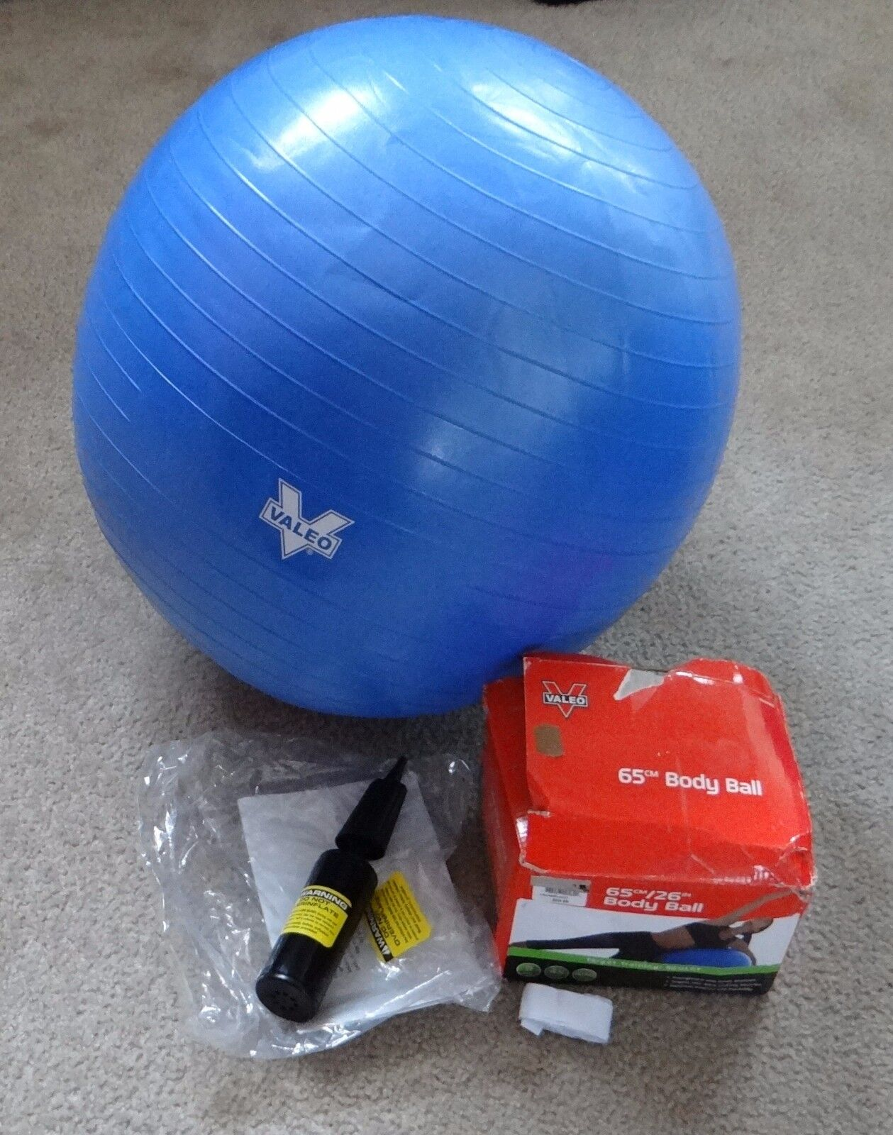 Valeo Body Ball  - BLUE